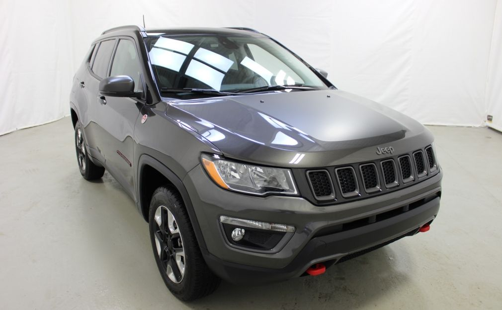 2017 Jeep Compass Trailhawk Awd Cuir Toit-Ouvrant Navigation #0