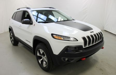 2017 Jeep Cherokee Trailhawk 4x4 Cuir Toit-Ouvrant Navigation #0