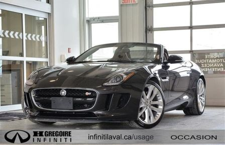 2014 Jaguar F TYPE S GPS Cuir-Chauffant NIGHT-VISION Camera 20'' #0