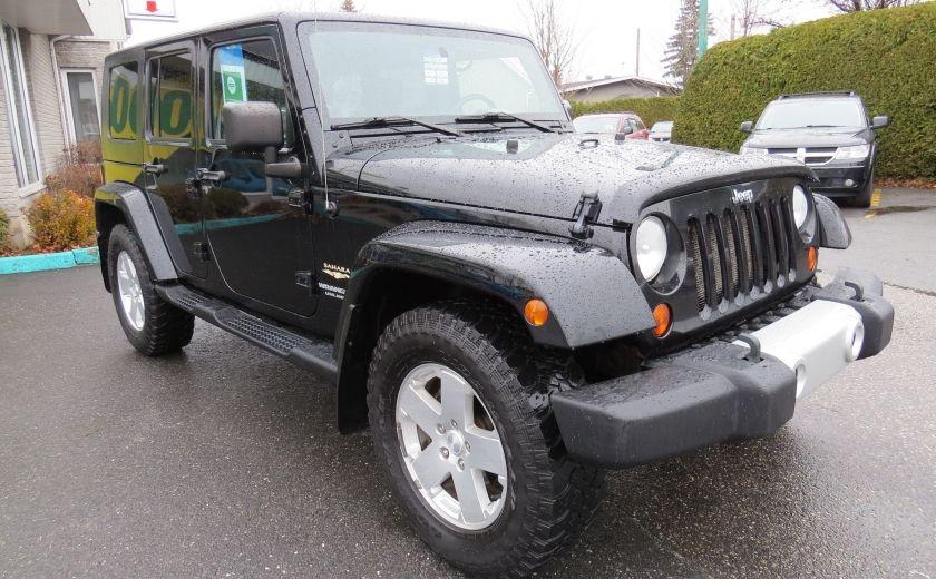 2010 Jeep Wrangler Sahara UNLIMITED AUT 4X4   A/C GR ELECTRIQUE #0