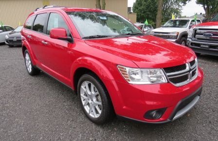 2014 Dodge Journey R/T AUT AWD CUIR MAGS 7 PASS CAMERA DVD GR ELECT #0