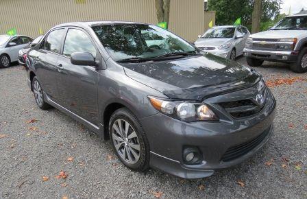 2012 Toyota Corolla S AUT A/C MAGS BLUETOOTH GR ELECTRIQUE #0