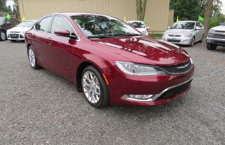 2015 Chrysler 200 C  AWD AUT A/C MAGS CUIR CAMERA BLUETOOTH GR ELECT #0