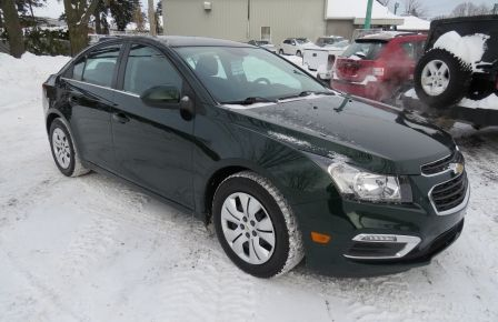 2015 Chevrolet Cruze 1LT AUT A/C CAMERA BLUETOOTH GR ELECTRIQUE #0